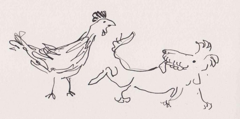 Poule et chien.compressed