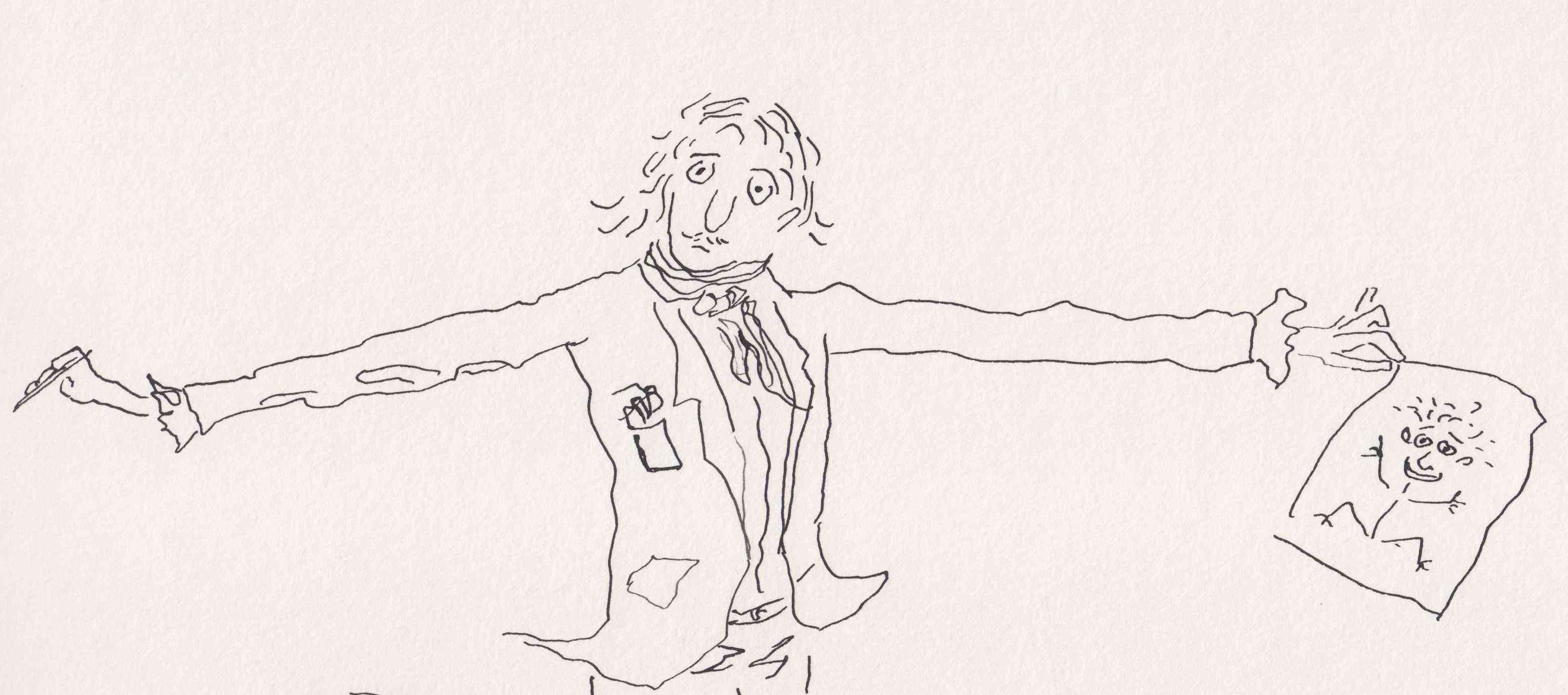 How to draw like quentin blake - Dessin de prof ...